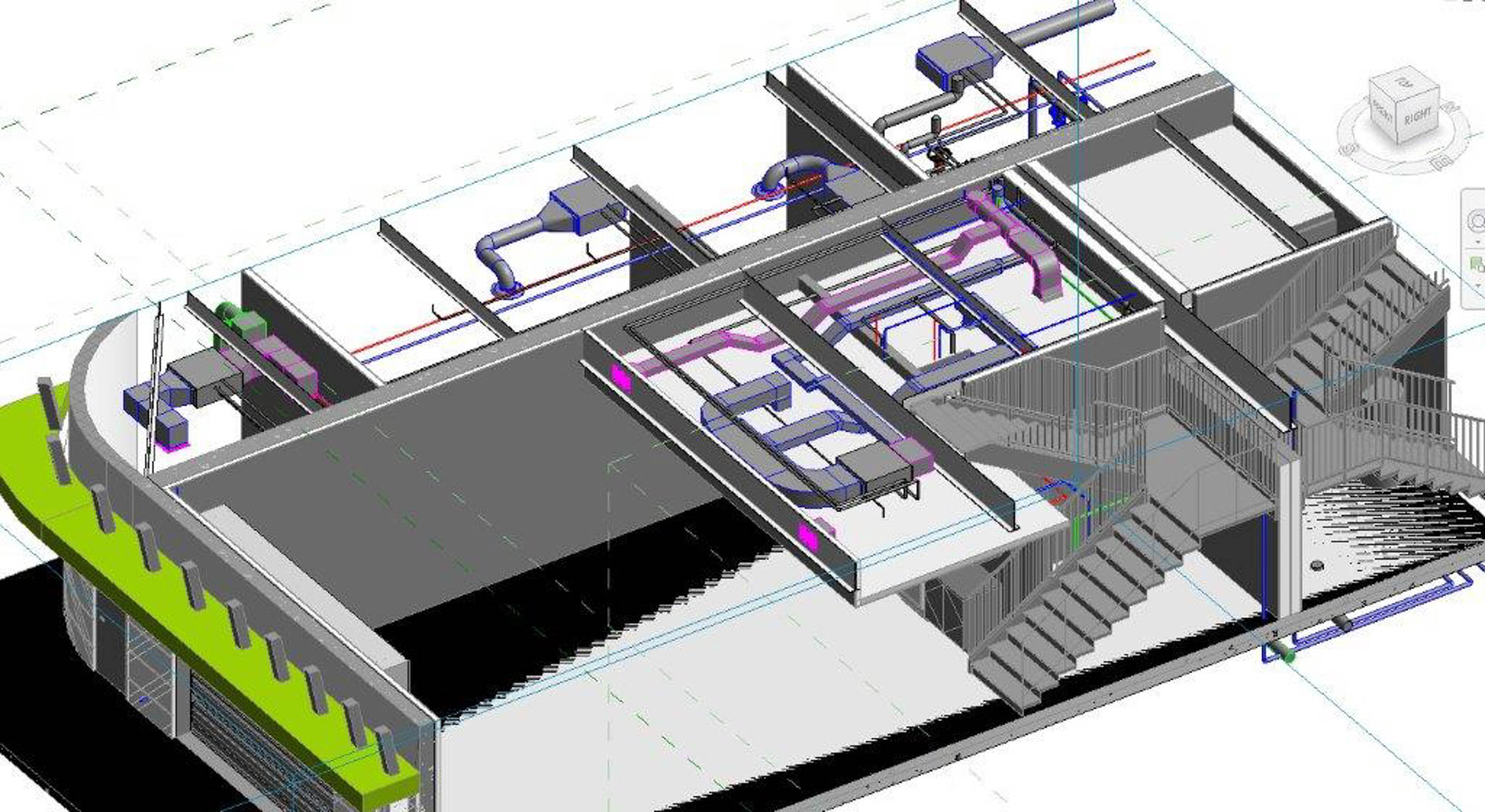 Race Car Storage Facility | Jewer Bailey Consultants | Structural ...